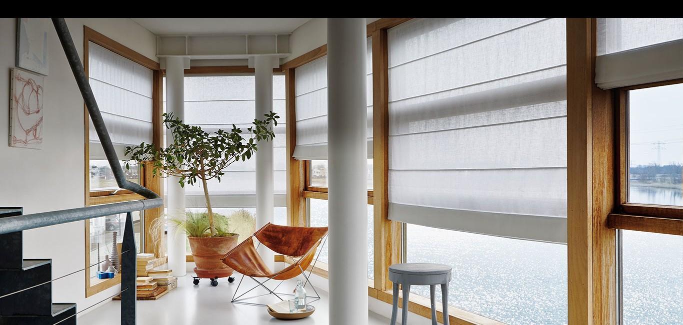 Cortinas Romanas Luxaflex® | Neo Interiores