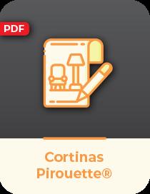 Cortina Pirouette® Luxaflex®   Neo Interiores